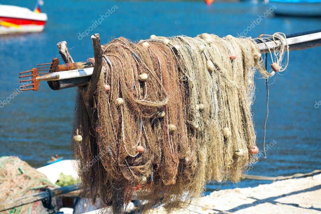 как обмыть рыболовную сеть