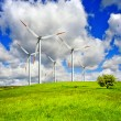 Foto de Stock  : Wind energy