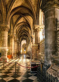 Paris Cathedral — Stock Photo