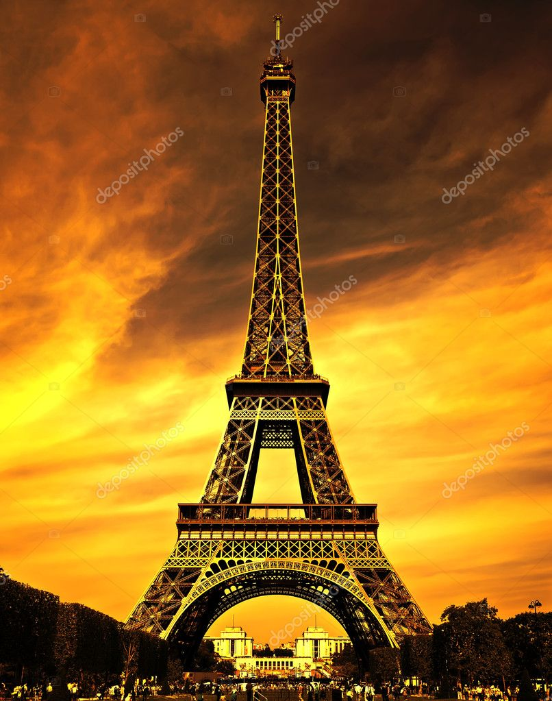 Paris love city stock photo wdgphoto 7467843 for Overnight stay in paris