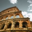 Stock Photo: Ruins of colosseum in Rome