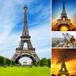 Stock Photo: The Eiffel Tower in Paris