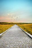 Wind road — Stock Photo