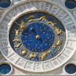 Astronomical clock in Venice — Stock Photo