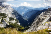 Mountain landscape in Slovenia — Stock Photo