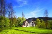 Nova casa da colina — Foto Stock