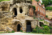Caves at Nottingham, UK — Stock Photo