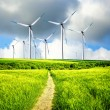 Stock Photo: Wind Industry