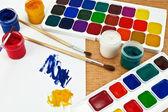 Pintura y gouache — Foto de Stock
