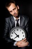 Empresário cansado — Foto Stock