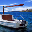 Stock Photo: Boat on the sea