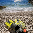 Snorkel equipment — Stock Photo #6873961