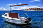 Boat on the sea — Foto Stock