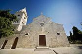 Iglesia en primosten — Foto de Stock