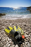 Snorkel equipment — Stock Photo