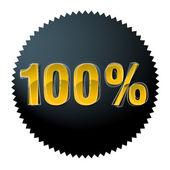 Сто процентов — Cтоковый вектор
