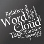 Word cloud — Stock Vector