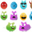 Funny monsters — Vector de stock #7692731