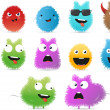 Stock Vector: Funny monsters