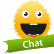Chat icon — Stock Vector #7692771