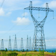 Power pylons — Stock Photo