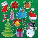 Рождественский сезон тема 1 — Cтоковый вектор