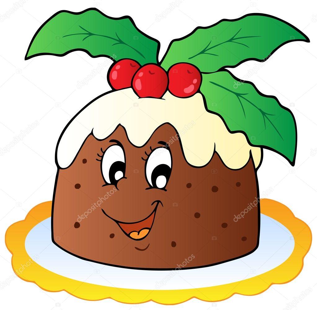 Fruit Cake Illustration