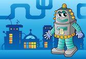 Robot theme image 3 — Stock Vector
