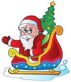 圣诞圣诞老人 6 — 图库矢量图片