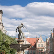 Famous cities in  Poland - Gdansk - Danzig. — Stock Photo