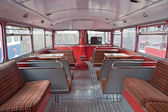 Traditional London bus. — Stock Photo
