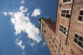 Famosas cidades na polónia - gdansk - danzig. — Foto Stock