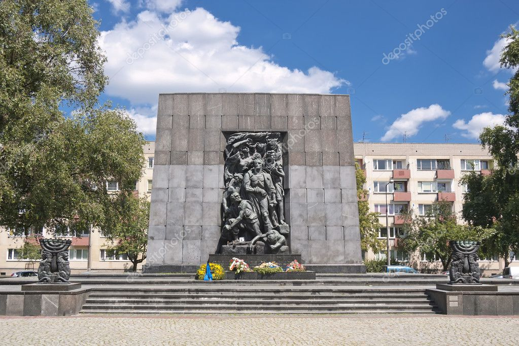 Monument of Ghetto Heroes. Nazi Victims. — Stock Photo #7788490