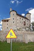 Castillo gótico polaco. — Foto de Stock