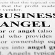 Stock Photo: Business angel