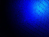 Abstract blue glass diversity, power lighting. — 图库照片