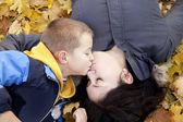 Moeder met het kind — Stockfoto