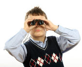 Observador — Fotografia Stock