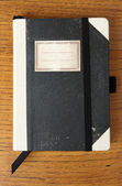 Old notebook — Stock Photo