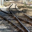 Stock Photo: Rail tracks