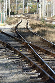 Rail tracks — Stock Photo