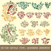 Ukrainian ornament — Stock Vector