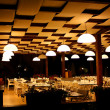 Stock Photo: Night restaurant in resort hotel