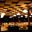 Night restaurant in resort hotel - Stock Photo