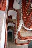 Ladder platform of resort hotel — Stock Photo