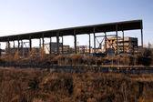 Bouw van de nieuwe fabriek — Stockfoto