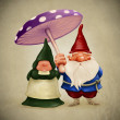 Stock Photo: Spouses gnomes