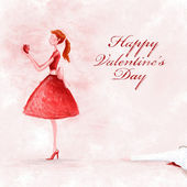 Happy valentine's day — Foto Stock