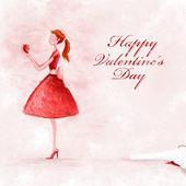 Happy valentine's day — Stok fotoğraf
