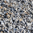 Pebbles on a bech — Stockfoto